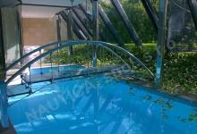 Skimmerový interiérový bazén 11,5x3,5 m
