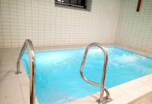 Skimmerový interiérový bazén 4,2x2,5 m