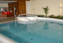 Hotelový bazén s přelivem 11x4,5 m s whirlpoolem - HAPPY STAR, Hnanice