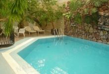 Hotelový bazén s přelivem 9x4 m, PARK HOTEL, Brno