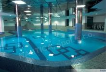 Hotelový bazén s přelivem 15x8 m - SPORT-V-HOTEL, Hrotovice
