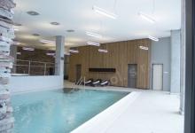 Hotelový bazén s přelivem 9x5 m, HOTEL VINAŘSTVÍ HNANICE, Hnanice