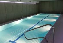Interiérový bazén s přelivem 10x4 m