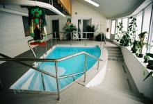 Rehabilitační bazén s přelivem 7x3 m, USP Střelice