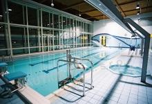 Rehabilitační bazén s přelivem 18x8 m - Centrum Kociánka, Brno