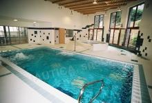 Školní bazén s přelivem 8x4 m, ZŠ a MŠ Logopedická, Veslařská Brno