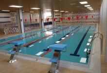 Školní bazén s přelivem 8x18 m, ZŠ Šlapanice