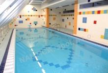 Výukový bazén s přelivem 4x11 m, DM Juventus, Brmo