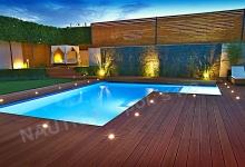 Skimmerovy venkovni bazen 7,3x4-6,5 m